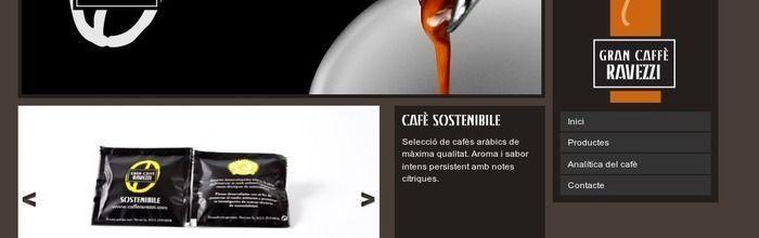 Disseny web de Gran Caffè Ravezzi