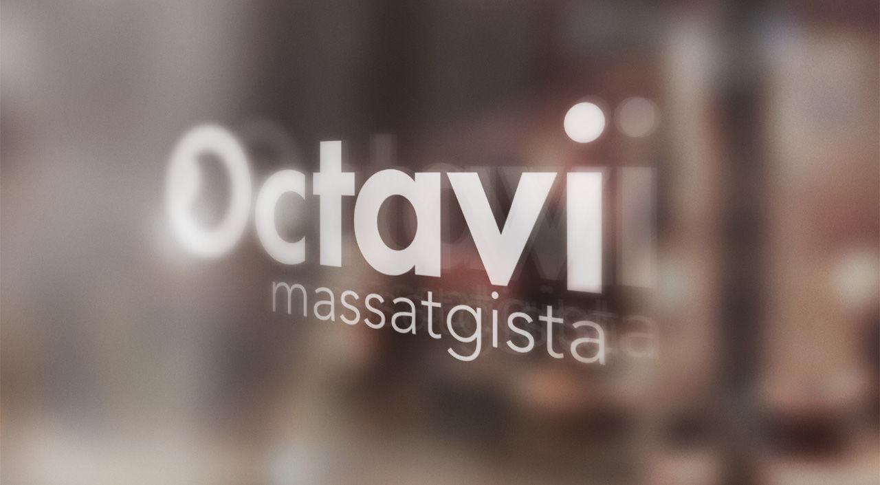 Disseny logotip per massatgista