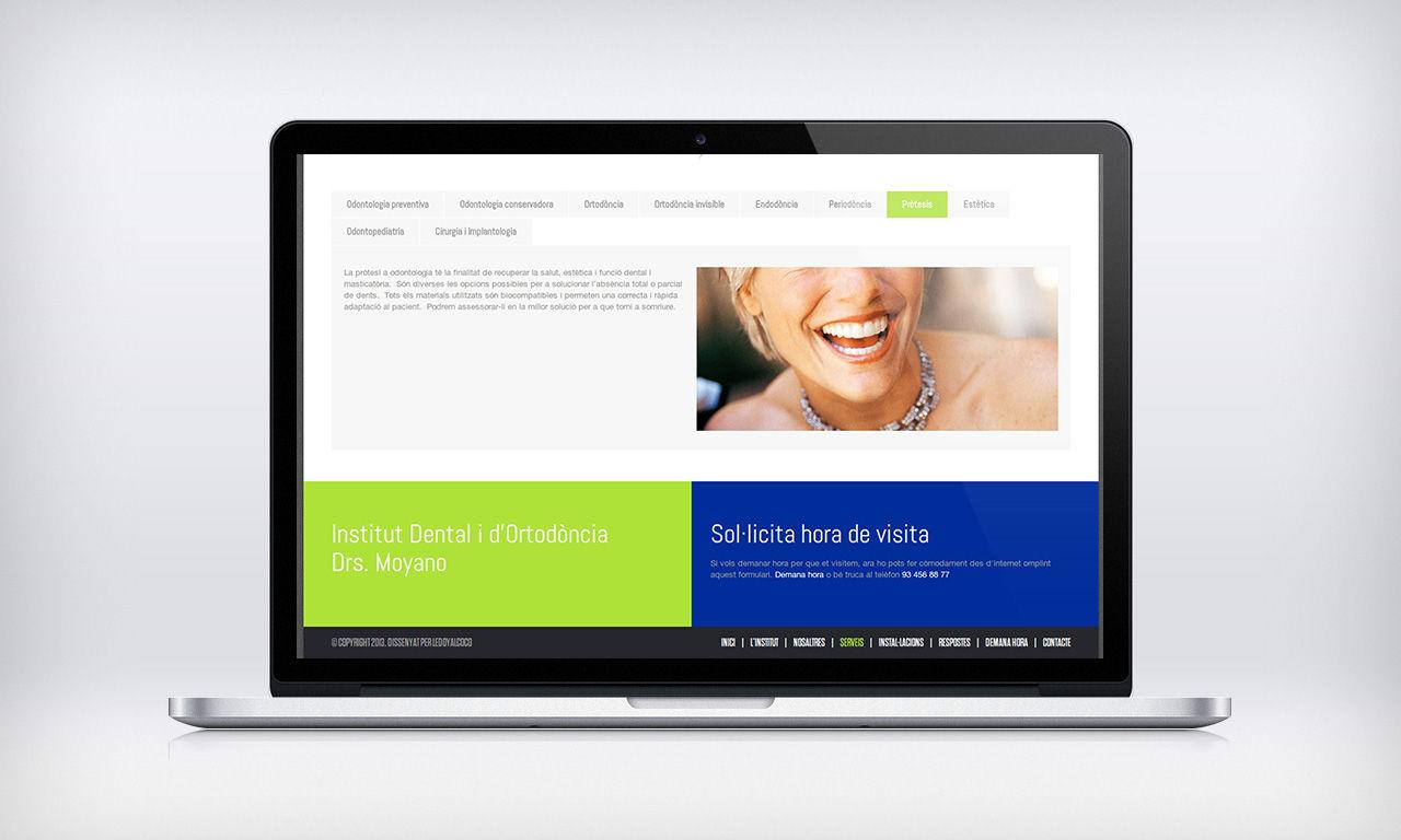 Disseny web clínica dental