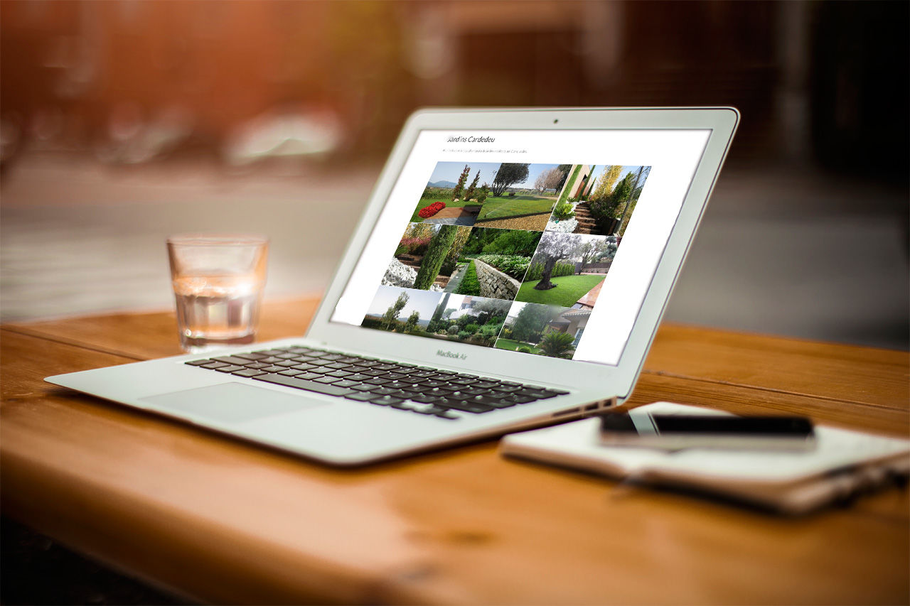 disseny web jardineria