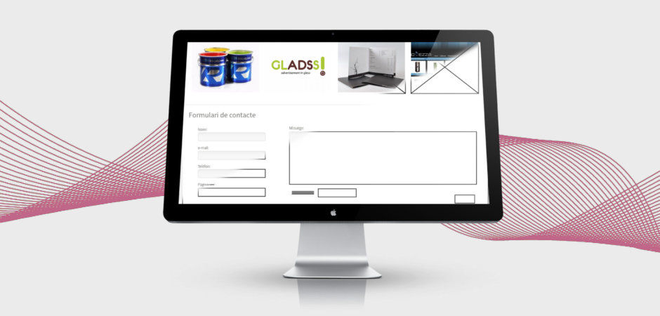 disseny web pantalla Disseny pàgina web Sant Antoni de Vilamajor