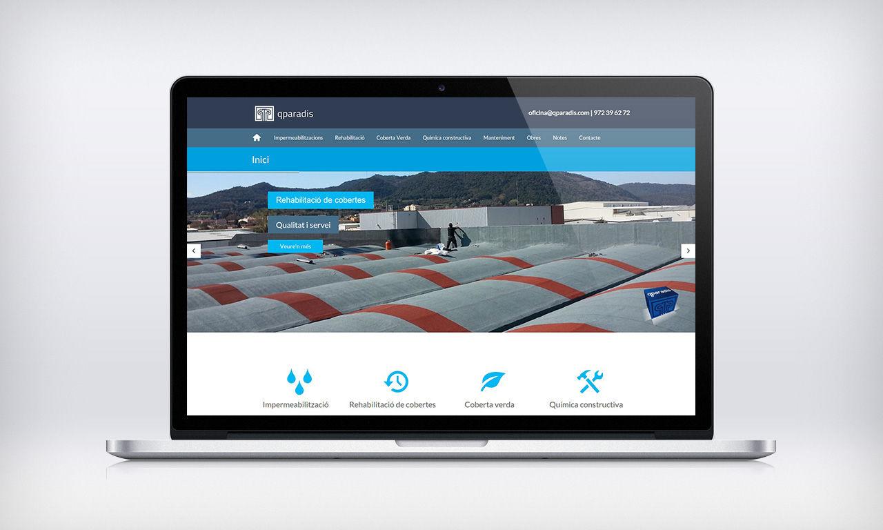 disseny web sector de la construcció
