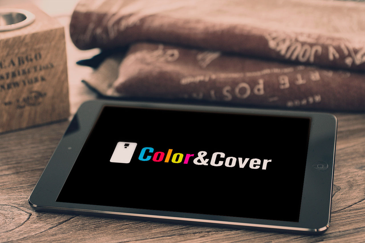 Disseny logotip Color&Cover