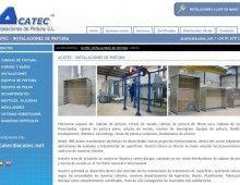 Pagina web Acatec