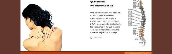 Programació web de Quiropràctica Agote