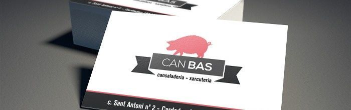 Disseny tarjeta Can Bas