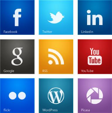 xarxes socials Xarxes socials